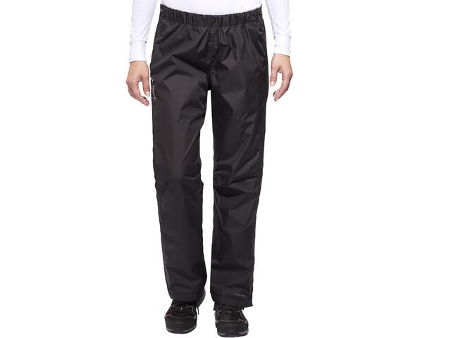 VAUDE Fluid Full-Zip Pants short Size Women, black